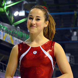 Carlotta Ferlito ginnastica