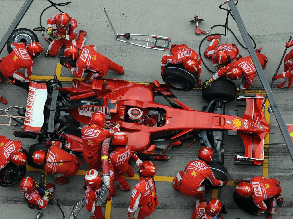 pit stop formula1