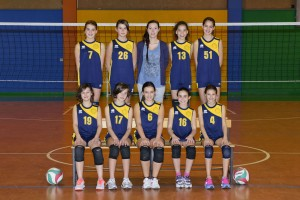 La formazione Under 13 del Free Volley Carate (foto studio Taddei)