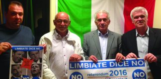 referendum no grazie limbiate