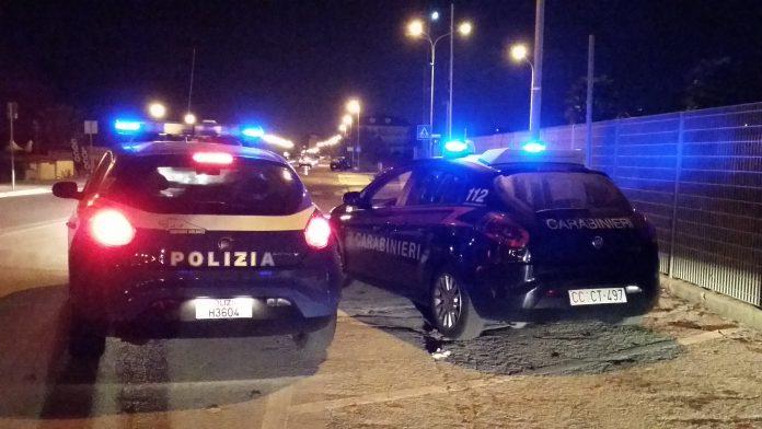 notte di polizia monza