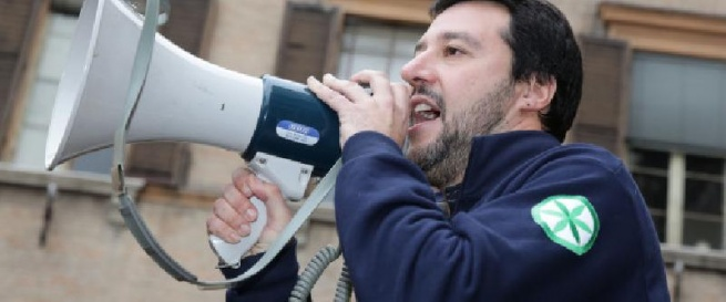 lega nord salvini diamanti