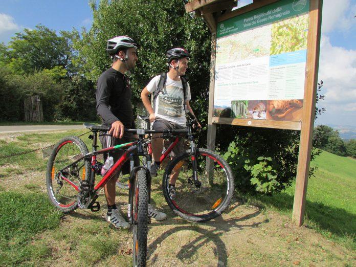 Monza in bicicletta nel parco