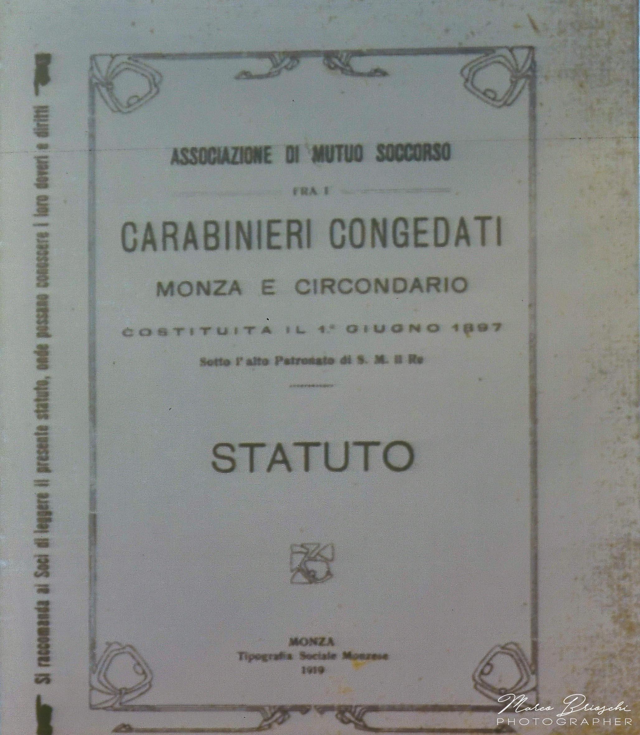 monza associazione carabinieri bonacina