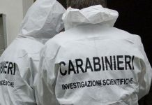 lissone cadavere carabinieri
